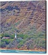 Oahu Lighthouse Canvas Print