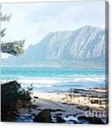 Oahu Sight Canvas Print