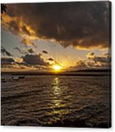 Oahu Sunrise Canvas Print