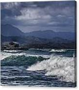 Oahu Surf Canvas Print
