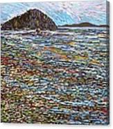 Oak Bay - Low Tide Canvas Print