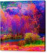 Oak Creek Acid 2 Canvas Print