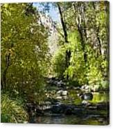 Oak Creek Canyon Creek Arizona Canvas Print