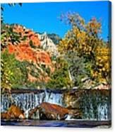 Oak Creek Cascade Canvas Print