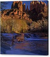 Oak Creek Crossing Sedona Arizona Canvas Print