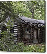 Oak Lodge Canvas Print