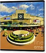Oakland A's Coliseum Canvas Print