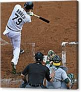 Oakland Athletics V Chicago White Sox Canvas Print