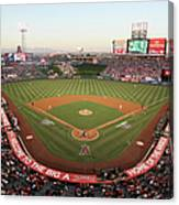 Oakland Athletics V Los Angeles Angels Canvas Print