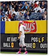 Oakland Athletics v. New York Yankees Canvas Print