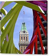Oakland Tribune Canvas Print