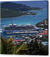 Oasis Of The Seas Canvas Print
