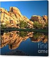 Oasis Reflections Canvas Print