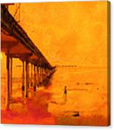Ob Sunset Canvas Print