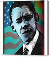 Obama-3 Canvas Print