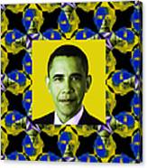 Obama Abstract Window 20130202p55 Canvas Print