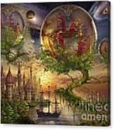 Observer Trees Canvas Print