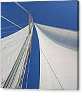 Obsession Sails 1 Canvas Print
