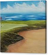 Obstacles To A Beautiful Game Canvas Print