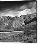 Oc Foothills 4171 Canvas Print