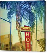 Occidental Hotel Canvas Print