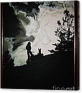 Ocean And I Canvas Print