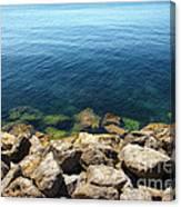 Ocean And Rocks Canvas Print