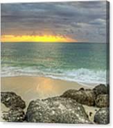 Ocean At Dawn Canvas Print