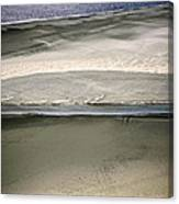 Ocean At Low Tide Canvas Print