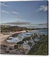 Ocean Beach At Sunrise Canvas Print