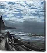 Ocean Beach Pacific Northwest Canvas Print