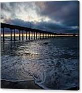 Ocean Beach Pier 4 Canvas Print