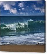 Ocean Blue Morning 2 Canvas Print