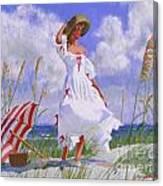 Ocean Breeze Blues Canvas Print
