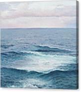 Ocean By Jan Matson Canvas Print