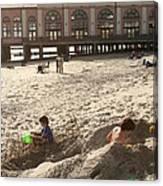 Ocean City New Jersey Music Pier Canvas Print