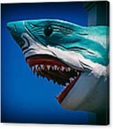 Ocean City Shark Attack Canvas Print
