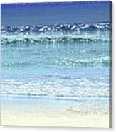 Ocean Colors Abstract Canvas Print