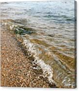Ocean Curl Canvas Print