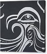 Ocean Eagle Eye Canvas Print