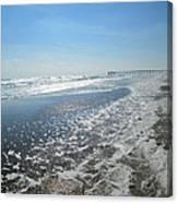 Ocean Foam Canvas Print