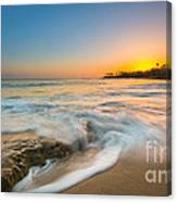 Ocean Glow Canvas Print