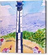Ocean Lighthouse Canvas Print