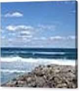 Great Ocean Road Surf, Australia - Panorama Canvas Print