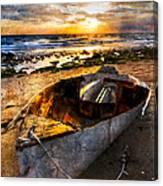 Ocean Salty Canvas Print