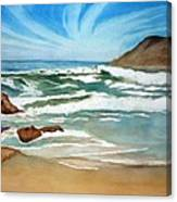 Ocean Side Canvas Print