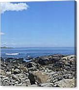 Ocean View Panoramic Canvas Print