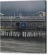 Ocean View Pier Canvas Print