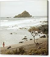 Ocean Walk Canvas Print