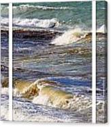 Ocean Waves Triptych Canvas Print